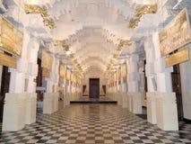 Galerie innerhalb des Tempels des Zahnes Stockbilder