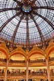 Galerie Lafayette Stockbild