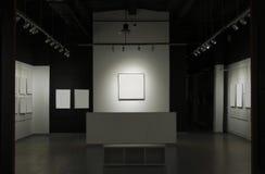 Galerie mit Bildern stockfoto