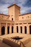 Galerie supérieure Kasbah Amridil Skoura Maroc Photographie stock libre de droits