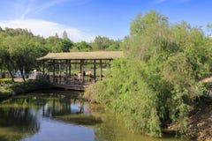 Galerie sur l'étang, adobe RVB photo stock