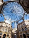 Galerie Umbertos I in Neapel Stockfotografie