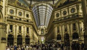 Galerie Vittorio Emanuele II images libres de droits