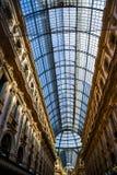 Galerie Vittorio Emanuele II in zentralem Mailand, Italien Lizenzfreie Stockfotos