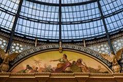 Galerie Vittorio Emanuele II in zentralem Mailand, Italien Lizenzfreie Stockbilder