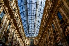 Galerie Vittorio Emanuele II in zentralem Mailand, Italien Stockfotos