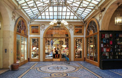 The Galerie Vivienne is a historical passage in Paris, France.