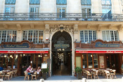 The Galerie Vivienne is a historical passage in Paris, France. Stock Photo