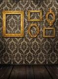 Galeriebildschirmanzeige Stockfotos