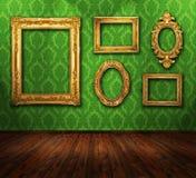 Galeriebildschirmanzeige Lizenzfreies Stockbild