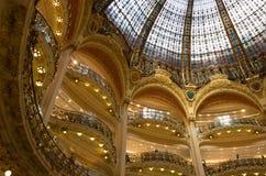 Galerielafayette-Innenraum Stockbild
