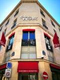Galeries拉斐特是一家普遍的法国联锁百货商店 库存照片