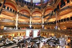 Galeries拉斐特是一家普遍的法国联锁百货商店 免版税图库摄影