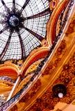 galeries Λαφαγέτ Παρίσι Στοκ Φωτογραφία