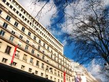 Galeries Λαφαγέτ Παρίσι Στοκ εικόνα με δικαίωμα ελεύθερης χρήσης
