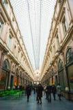 Galeries de Sait Hubert, Брюссель, Бельгия Стоковое Изображение