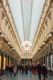 Galeries de Sait Hubert, Брюссель, Бельгия Стоковые Изображения