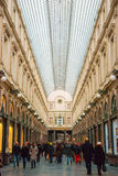 Galeries de Sait Hubert, Brussels, Belgium Stock Images