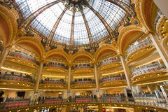 Galeries Lafayette Royalty Free Stock Images