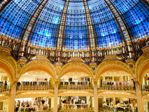 Galeries Lafayette Foto de Stock Royalty Free