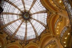 Galeries Lafayette - 02 Royaltyfri Fotografi