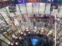The Galeries Lafayette in Berlin Royalty Free Stock Photography