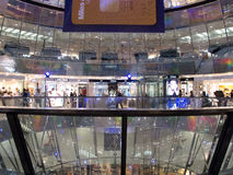 The Galeries Lafayette in Berlin Stock Images