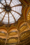 Galeries Lafayette - 01 Royalty Free Stock Photos