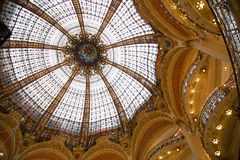 Galeries Lafayette - 02 Royalty Free Stock Photography