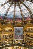 Galeries Lafayette interior in Paris Stock Photo