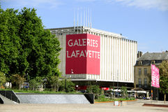 Galeries Lafayette (Metz - France) Fotos de Stock Royalty Free