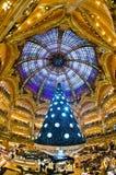 Galeries Lafayette, París. Fotos de archivo