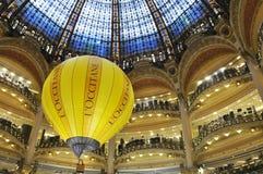 Galeries Lafayette Parijs Stock Foto's