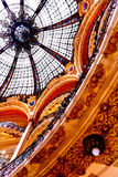 Galeries Lafayette - Paris Stock Photography