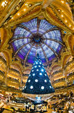 Galeries Lafayette, Paris. Stock Photos
