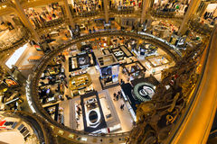 Galeries Lafayette Paris Photo libre de droits