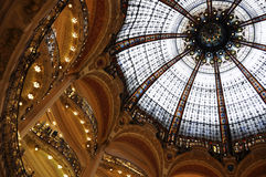 Galeries Lafayette - Paris Royalty Free Stock Image