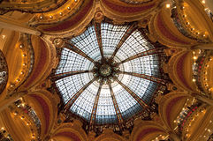 Galeries Lafayette, Paris, France Stock Images