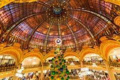Galeries Lafayette, Paris, France, 2018 royalty free stock photos
