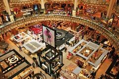 Galeries Lafayette in Paris, Frankreich Stockfotos
