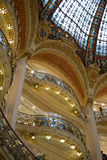 Galeries Lafayette Paris Royalty Free Stock Image