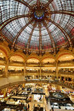 Galeries Lafayette, Paris Royalty Free Stock Photo