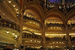 Galeries Lafayette, Paris Stock Images