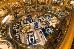 Galeries Lafayette Paryż Zdjęcie Royalty Free