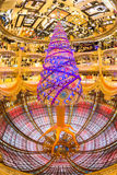 Galeries Lafayette warehouse upside down, Paris, France. Stock Photos