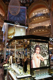 Galeries Lafeyette Perfume Store Signs Stock Photo