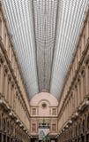 Galeries real de Saint Hubert Bruxelas Bélgica Imagens de Stock Royalty Free