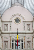 Galeries real de Saint Hubert Bruxelas Bélgica Fotografia de Stock Royalty Free