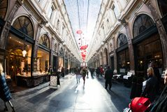 Galeries Royales圣于贝尔在比利时 免版税图库摄影