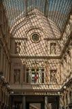 Galeries Royales圣于贝尔的细节在布鲁塞尔 免版税库存照片